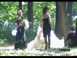 А вы такое на русских свадьбах видали?